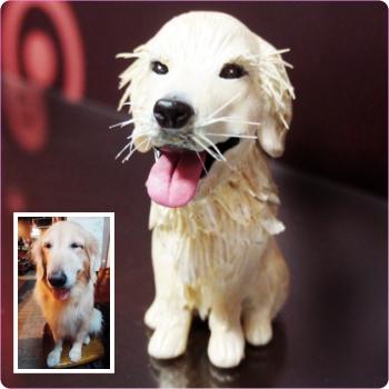寵物公仔 黃金獵犬公仔娃娃 FDA-001